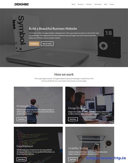 Designbiz-WordPress-Theme