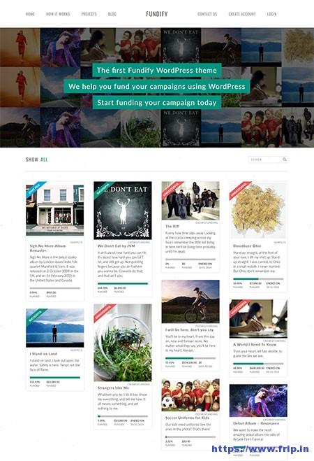 Fundify-WordPress-Theme
