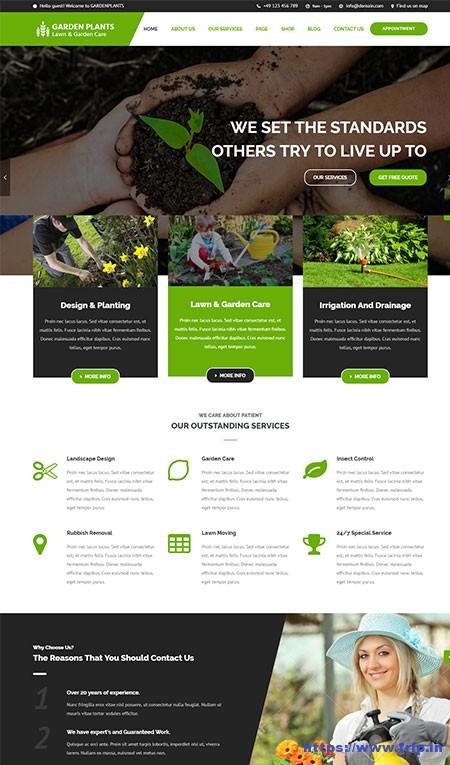 Garden-Plants-Gardening-WordPress-Theme