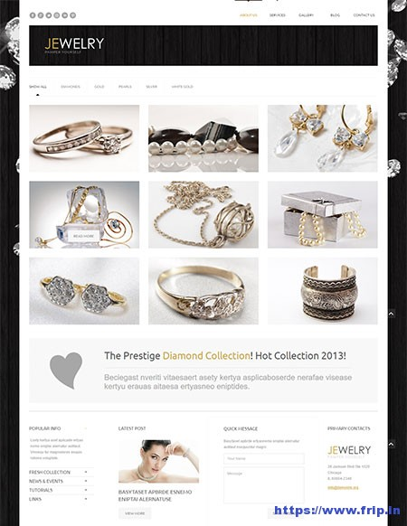Jewelry-Responsive-WordPress-Themes