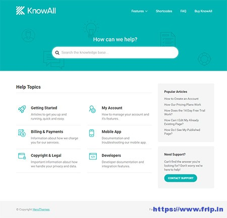 KnowAll-Knowledge-Base-WordPress-Theme