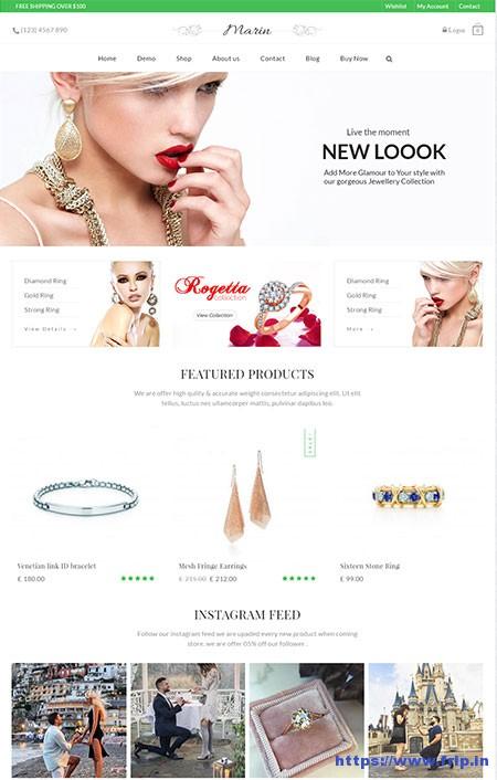 Marin-WooCommerce-WordPress-Theme
