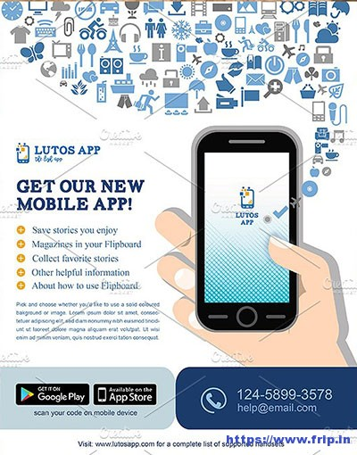 Mobile-App-Flyer-Templatees