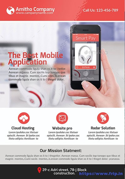 Mobile-App-Flyer-Templates