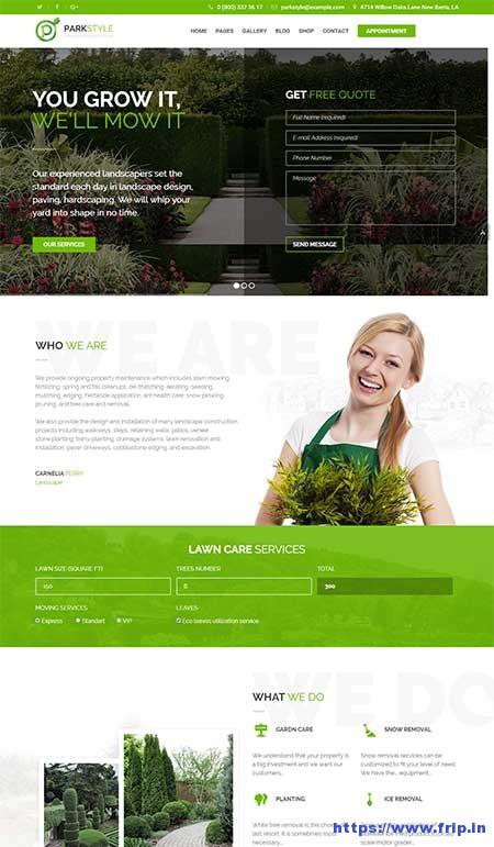 Parkstyle-Lawn-Mowing-WordPress-Theme