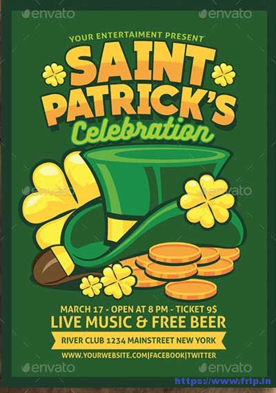 Saint-Patrick-Celebration-Flyer