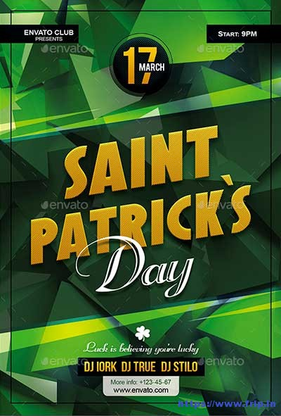 Saint-Patricks-Day-Party-Flyer