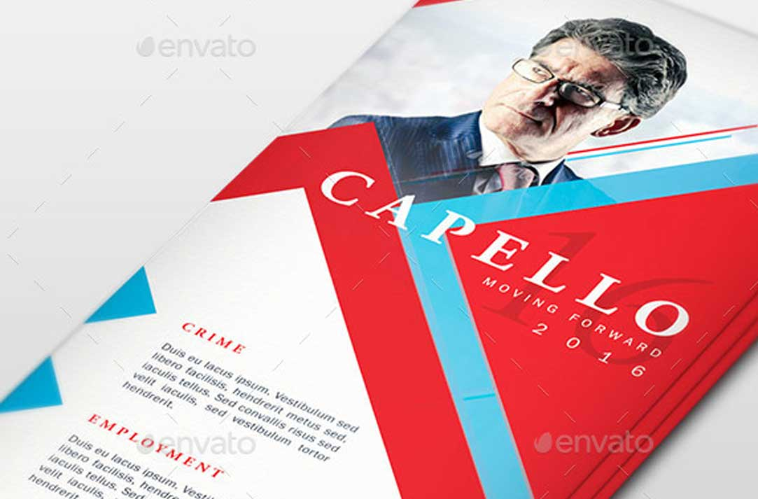 Political Palm Card Templates Archives Fripin - Political palm card template