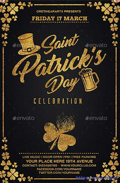 st-patrick-day-party-flyer