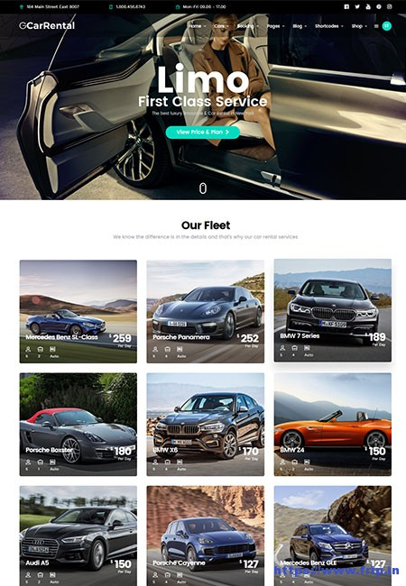 Chauffeur-Transport-&-Care-Hire-WordPress-Theme