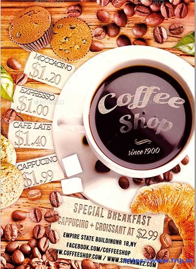 Coffee-Shop-Flyer-Templates