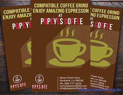 Coffeeshop-Flyer