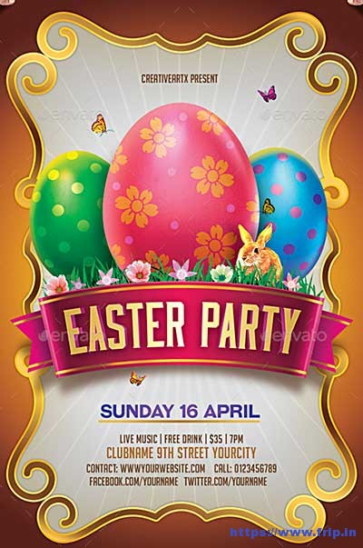 Easter-Party-Egg-Hunt-Flyer-Template