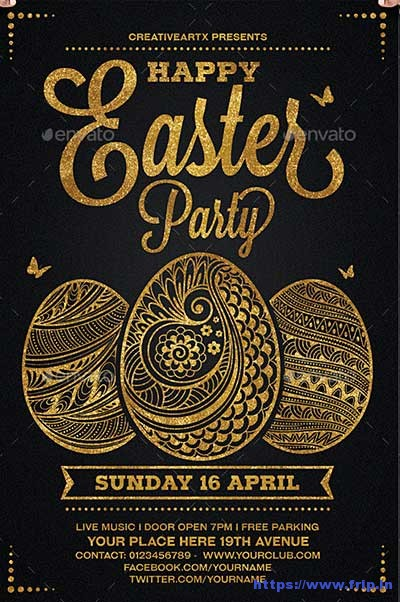 Happy-Easter-Party-Egg-Hunt-Flyer