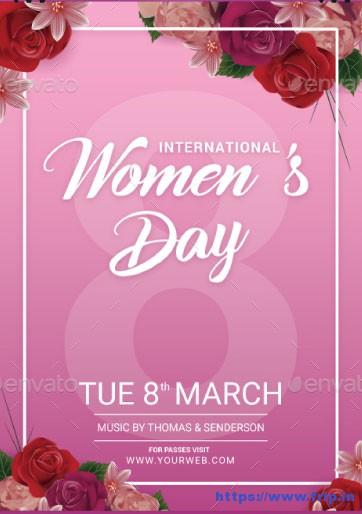 International-Womens-Day-Flyer-Template
