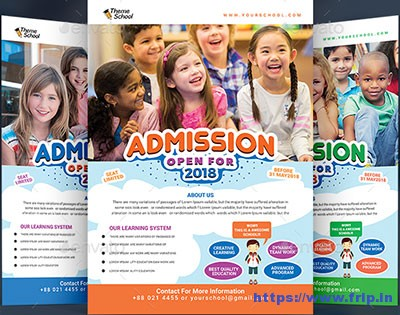Junior-School-Promotion-Flyer-Template