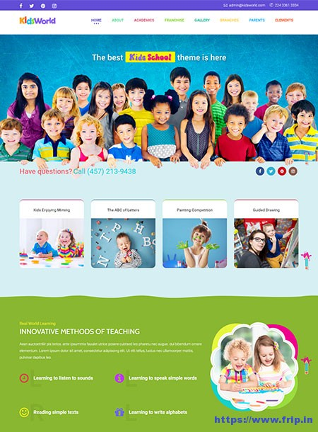 Kids-World-Children-WordPress-Theme