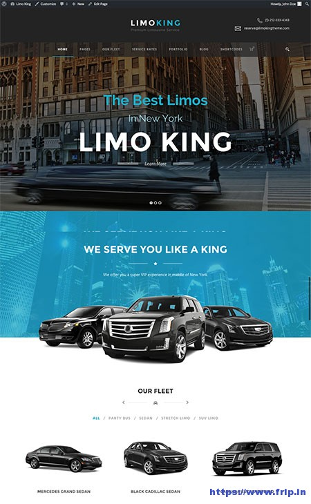 Limo-King-Limousine-WordPress-Theme