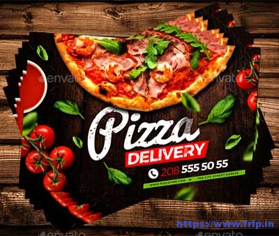 Pizza-Delivery-Flyer