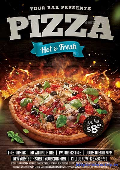 Pizza-Flyer-Template