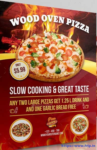 Pizza-Restaurant-Flyer