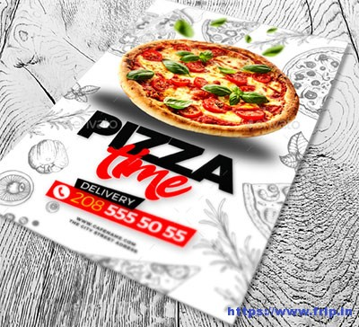 Pizza-Time-Flyer