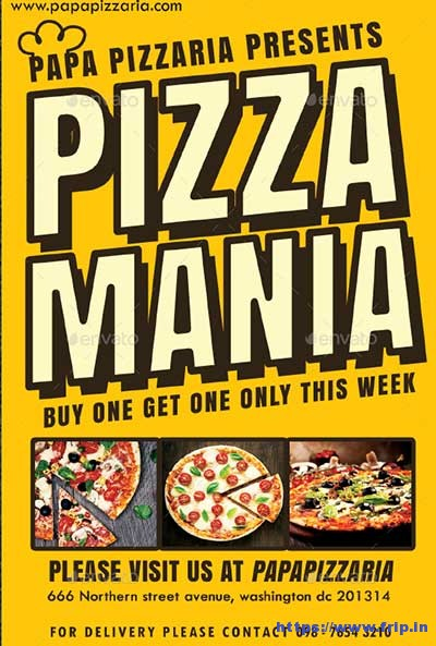 Pizzaria-Flyer