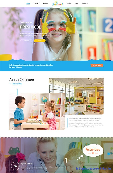 Preschool-Nurseries-Kindergarten-&-School-WordPress-Theme