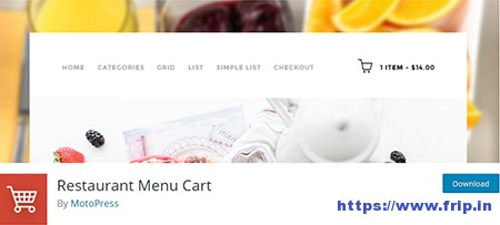 Restaurant-Menu-Cart-Plugin