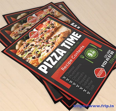 Restaurant-Pizza-Flyer