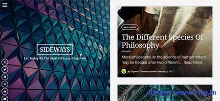 Sideways-WordPress-Theme