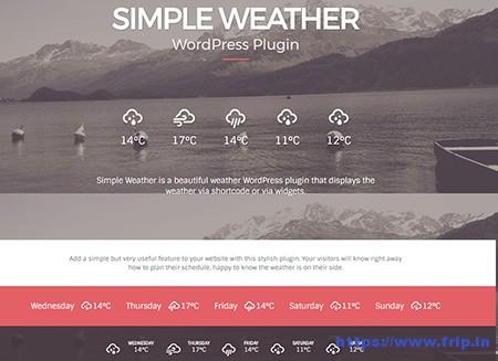 13 Best Weather WordPress Plugins & Widgets 2019 (Free & Premium