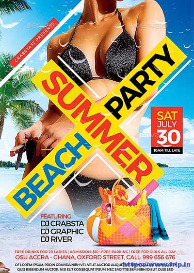 Summer-Beach-Party-Flyer-Template