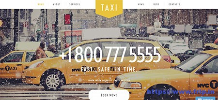 Taxi-Services-WordPress-Theme