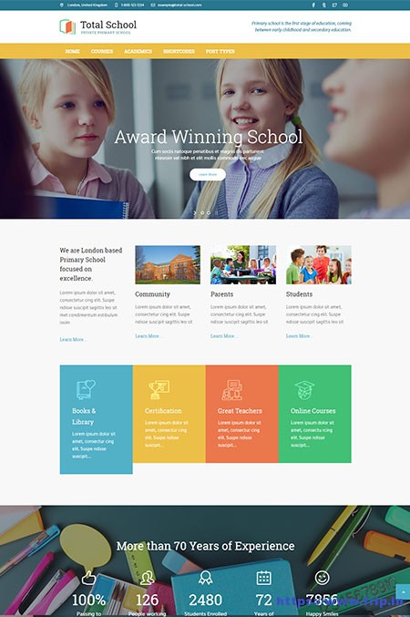 Total-School-Education-WordPress-Theme