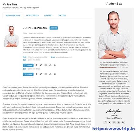 Ultimate-Author-Box-WordPress-Plugin
