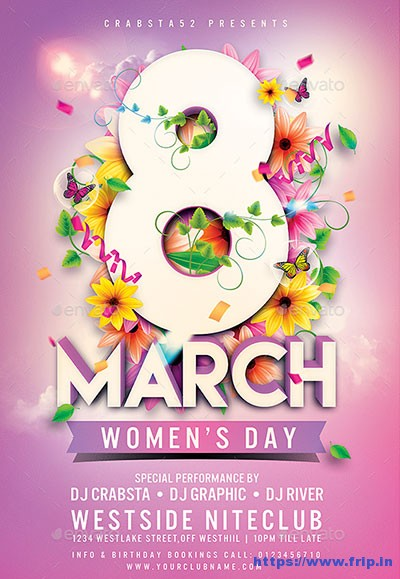 Womens-Day-Flyer-Templates