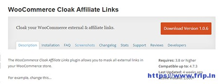 WooCommerce-Cloak-Affiliate-Links