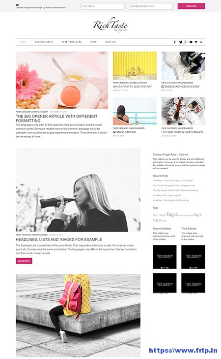 rich-taste-lifestyle-wordpress-theme
