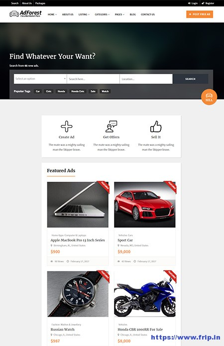AdForest-Classified-WordPress-Theme