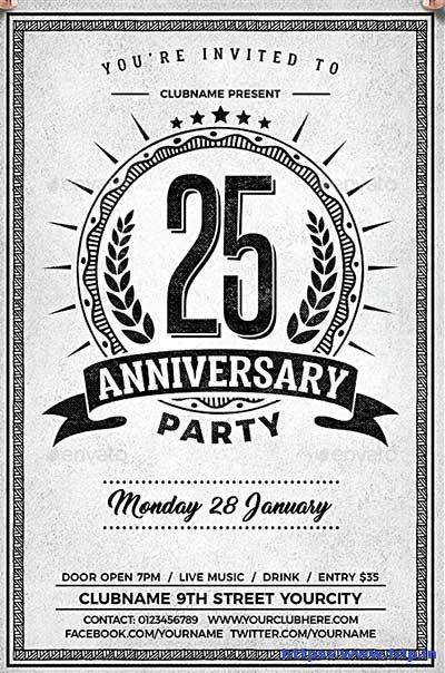 Anniversary-Party-Chalk-Flyer