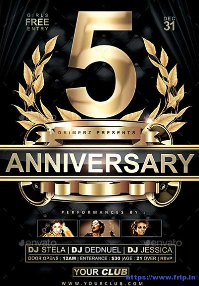 Anniversary-Party-Flyer