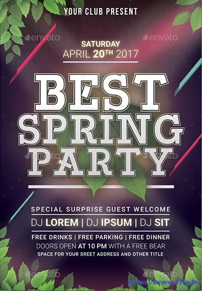 Best-Spring-Party-Flyer