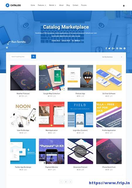 Catalog-Marketplace-WordPress-Theme