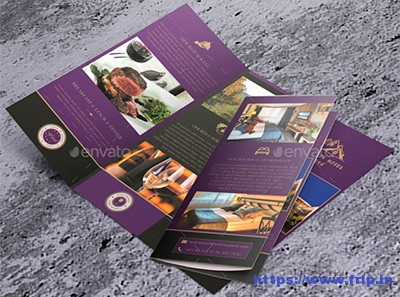 Creative-Trifold-Brochure-Mountain-Hotel-Jasna