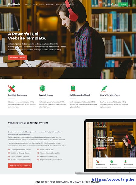 EduPress-LMS-WordPress-Theme