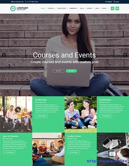 LMStudy-Education-LMS-WordPress-Theme