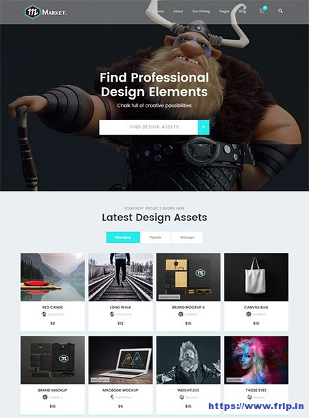 Market-Marketplace-WordPress-Theme
