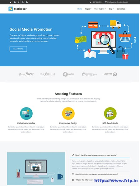 Marketer-SEO-WordPress-Theme