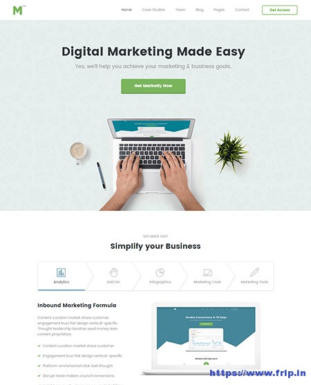 Marketing-SEO-website-Template